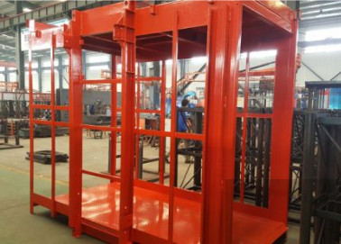 Rust - Proof Material Lift Elevator Low Energy Consumption Long Service Life