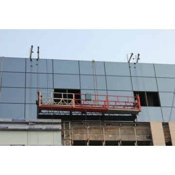 High Performance Suspended Working Platform For Building Facade Cleaning