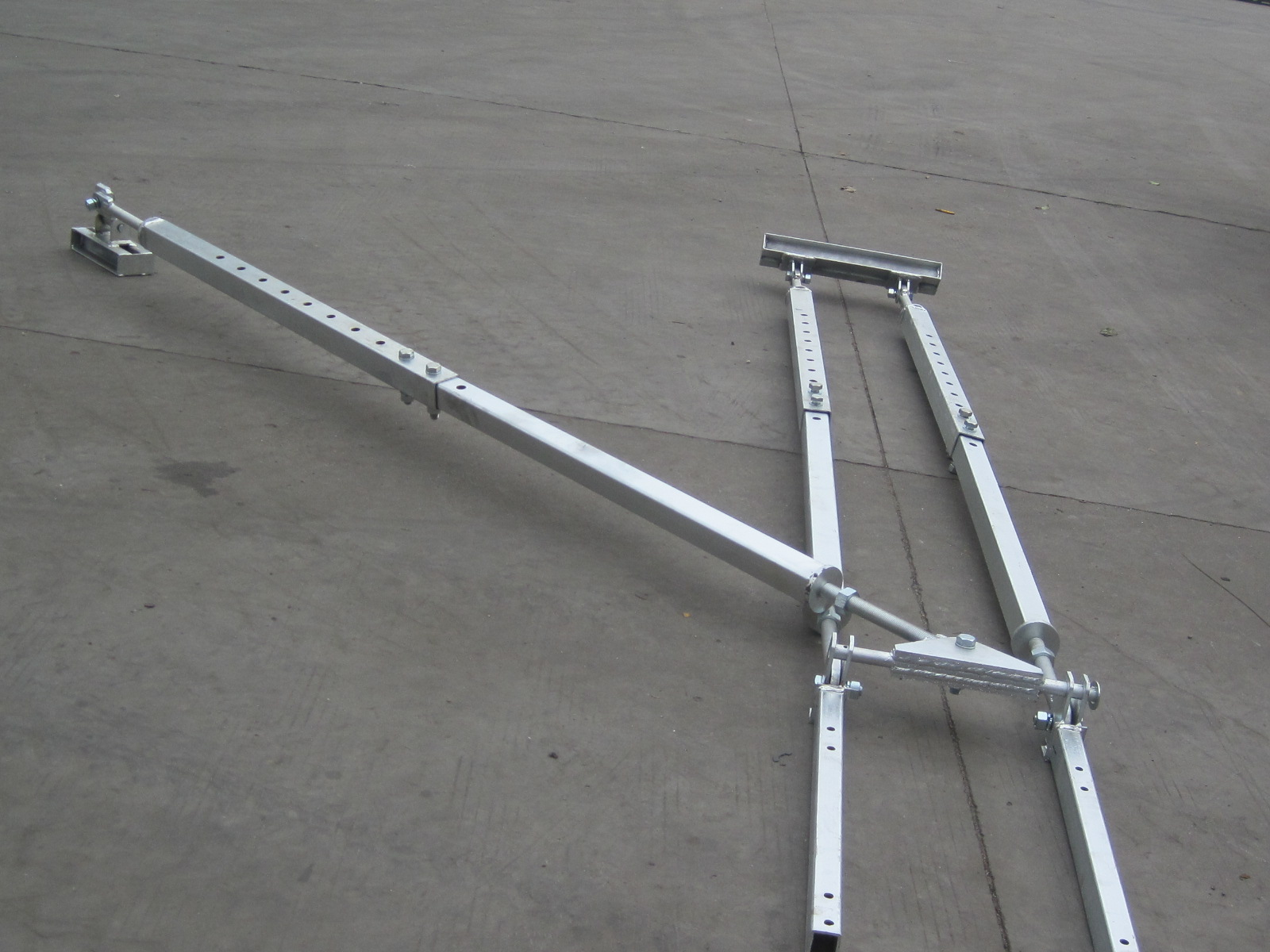 Custom Frame Stainless Steel IV Type Wall Tie for Construction Hoist
